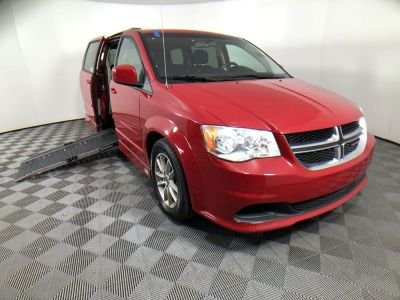 Handicap Van for Sale - 2013 Dodge Grand Caravan SXT Wheelchair Accessible Van VIN: 2C4RDGCG7DR739214
