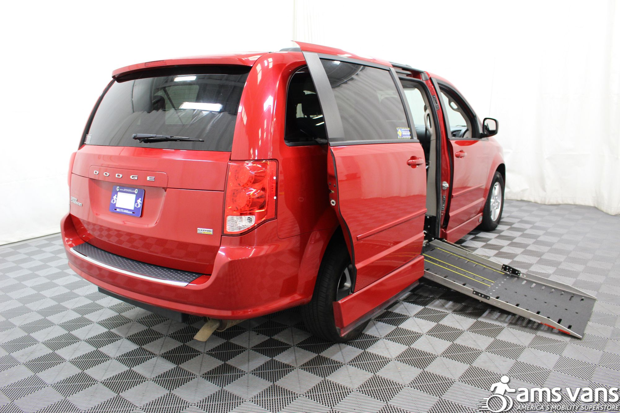 2012 Dodge Grand Caravan SXT Wheelchair Van For Sale #3