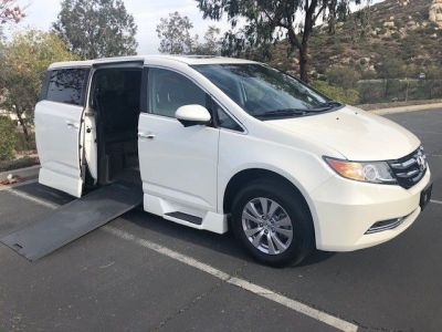 Used Wheelchair Van for Sale - 2017 Honda Odyssey EX-L Wheelchair Accessible Van VIN: 5FNRL5H65HB004160
