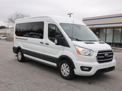 New Wheelchair Van for Sale - 2020 Ford Transit Passenger Mid-Roof 350 XLT - 15 Wheelchair Accessible Van VIN: 1FBAX2C84LKA23355