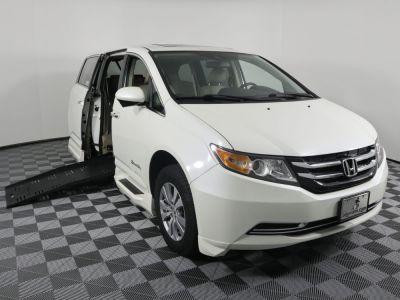 Handicap Van for Sale - 2014 Honda Odyssey EX-L Wheelchair Accessible Van VIN: 5FNRL5H69EB125043