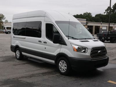 Commercial Wheelchair Vans for Sale - 2019 Ford Transit Passenger High Roof 350 XLT - 15 ADA Compliant Vehicle VIN: 1FBAX2XM2KKB06448