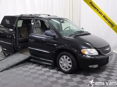 2004 Chrysler Town and Country Wheelchair Van For Sale -- Thumb #1