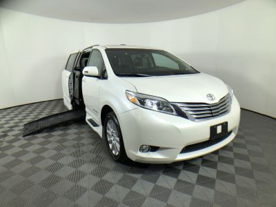Used Wheelchair Van for Sale - 2015 Toyota Sienna XLE Wheelchair Accessible Van VIN: 5TDYK3DCXFS665514