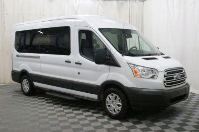 Commercial Wheelchair Vans for Sale - 2018 Ford Transit Passenger 350 XLT ADA Compliant Vehicle VIN: 1FBAX2CM6JKA56299