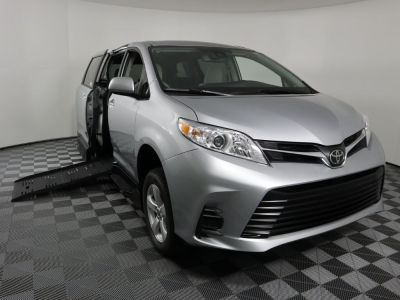 New Wheelchair Van for Sale - 2020 Toyota Sienna LE Wheelchair Accessible Van VIN: 5TDKZ3DC5LS079879