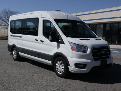 New Wheelchair Van for Sale - 2020 Ford Transit Passenger Mid-Roof 350 XLT - 12 Wheelchair Accessible Van VIN: 1FBAX2C8XLKA23862