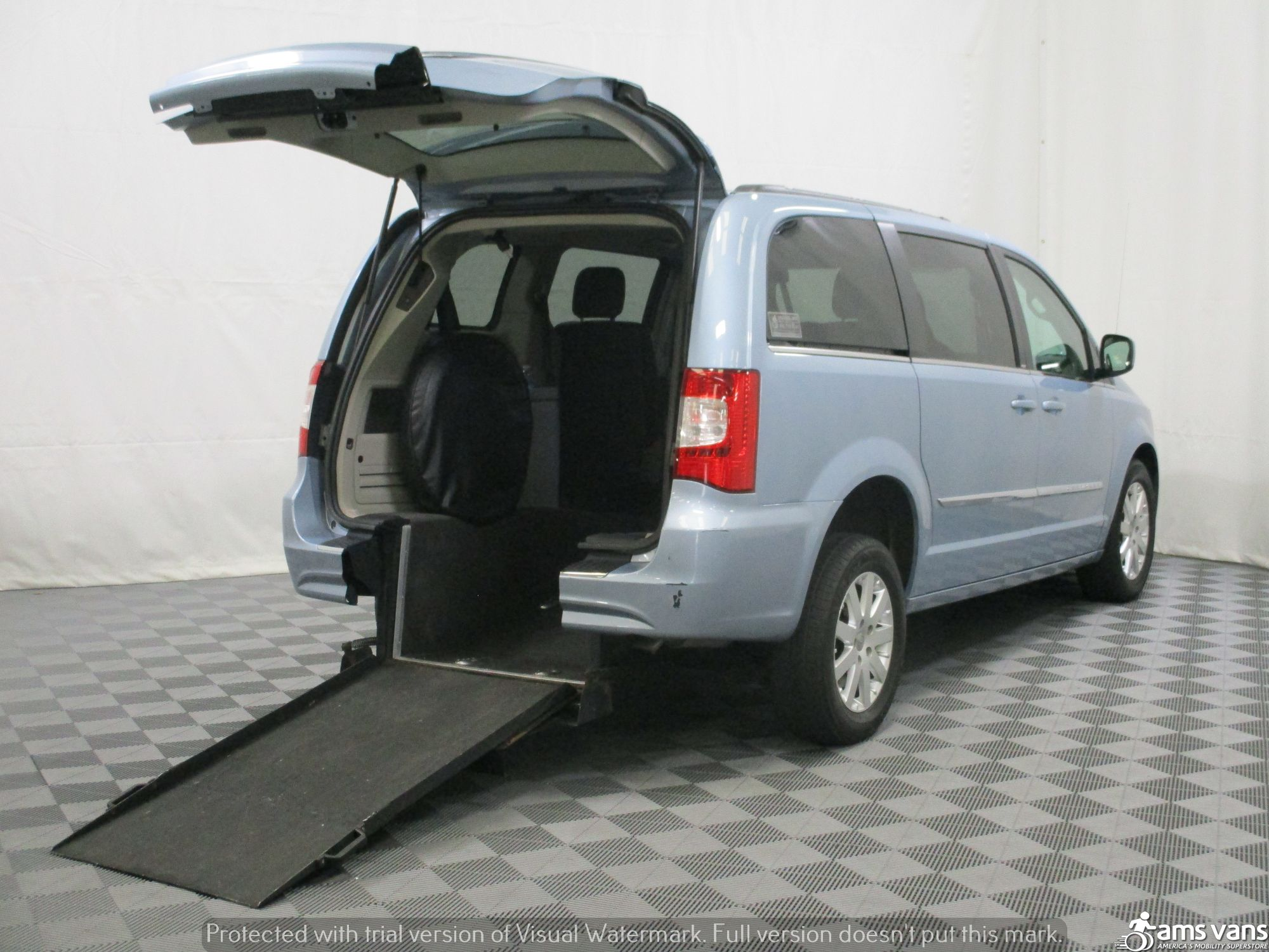 2013 Chrysler Town and Country Wheelchair Van For Sale #1