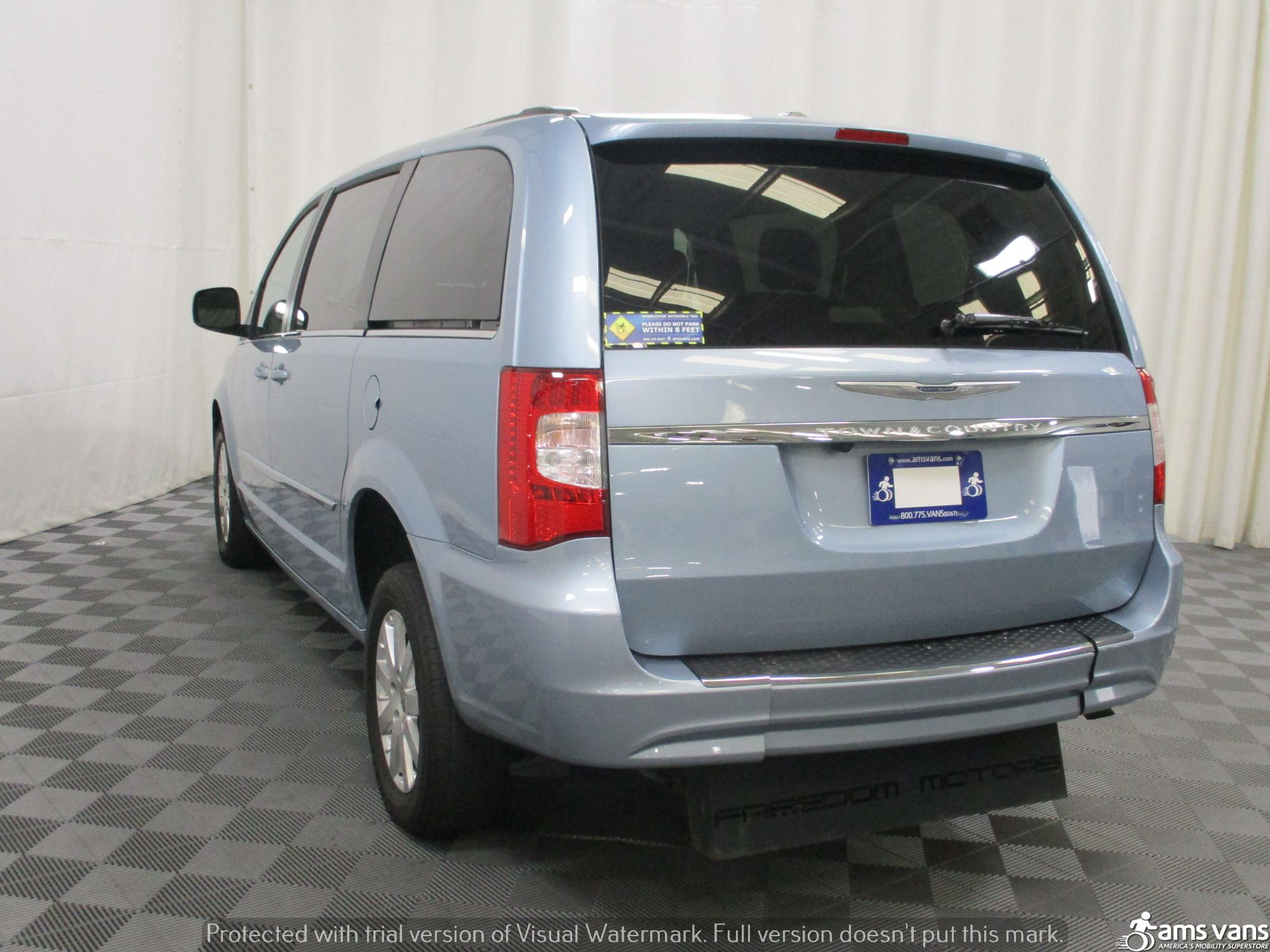2013 Chrysler Town and Country Wheelchair Van For Sale #12
