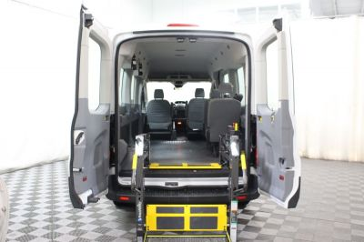 Commercial Wheelchair Vans for Sale - 2017 Ford Transit Passenger 350 XLT ADA Compliant Vehicle VIN: 1FBAX2CM2HKB13821