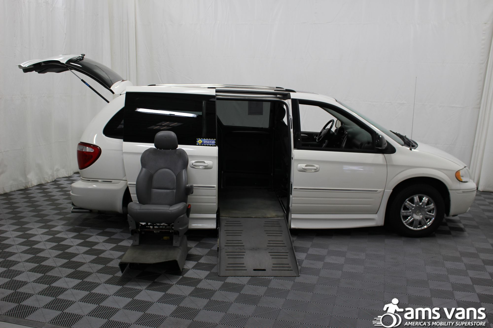 2005 Chrysler Town and Country Limited Wheelchair Van For Sale #7