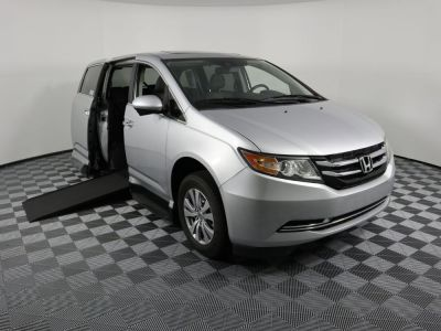 Handicap Van for Sale - 2014 Honda Odyssey EX-L Wheelchair Accessible Van VIN: 5FNRL5H69EB014766