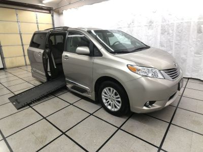 Used Wheelchair Van for Sale - 2016 Toyota Sienna XLE Wheelchair Accessible Van VIN: 5TDYK3DC5GS696056