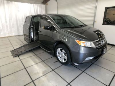 Used Wheelchair Van for Sale - 2013 Honda Odyssey Touring Wheelchair Accessible Van VIN: 5FNRL5H90DB051231
