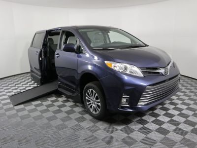 New Wheelchair Van for Sale - 2020 Toyota Sienna XLE NAV Wheelchair Accessible Van VIN: 5TDYZ3DC0LS083574