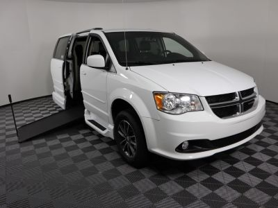 Handicap Van for Sale - 2017 Dodge Grand Caravan SXT Wheelchair Accessible Van VIN: 2C4RDGCG2HR546037