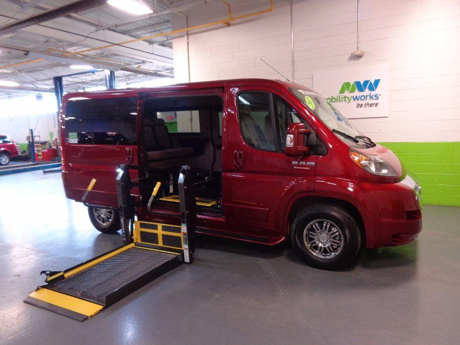 Wheelchair Vans In Detroit Mi Mobilityworks