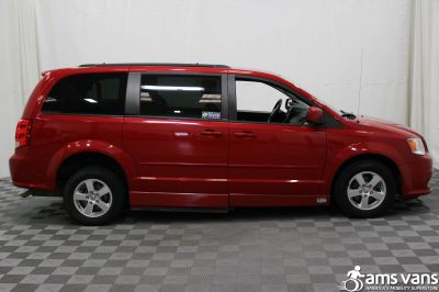 2012 Dodge Grand Caravan Wheelchair Van For Sale -- Thumb #11