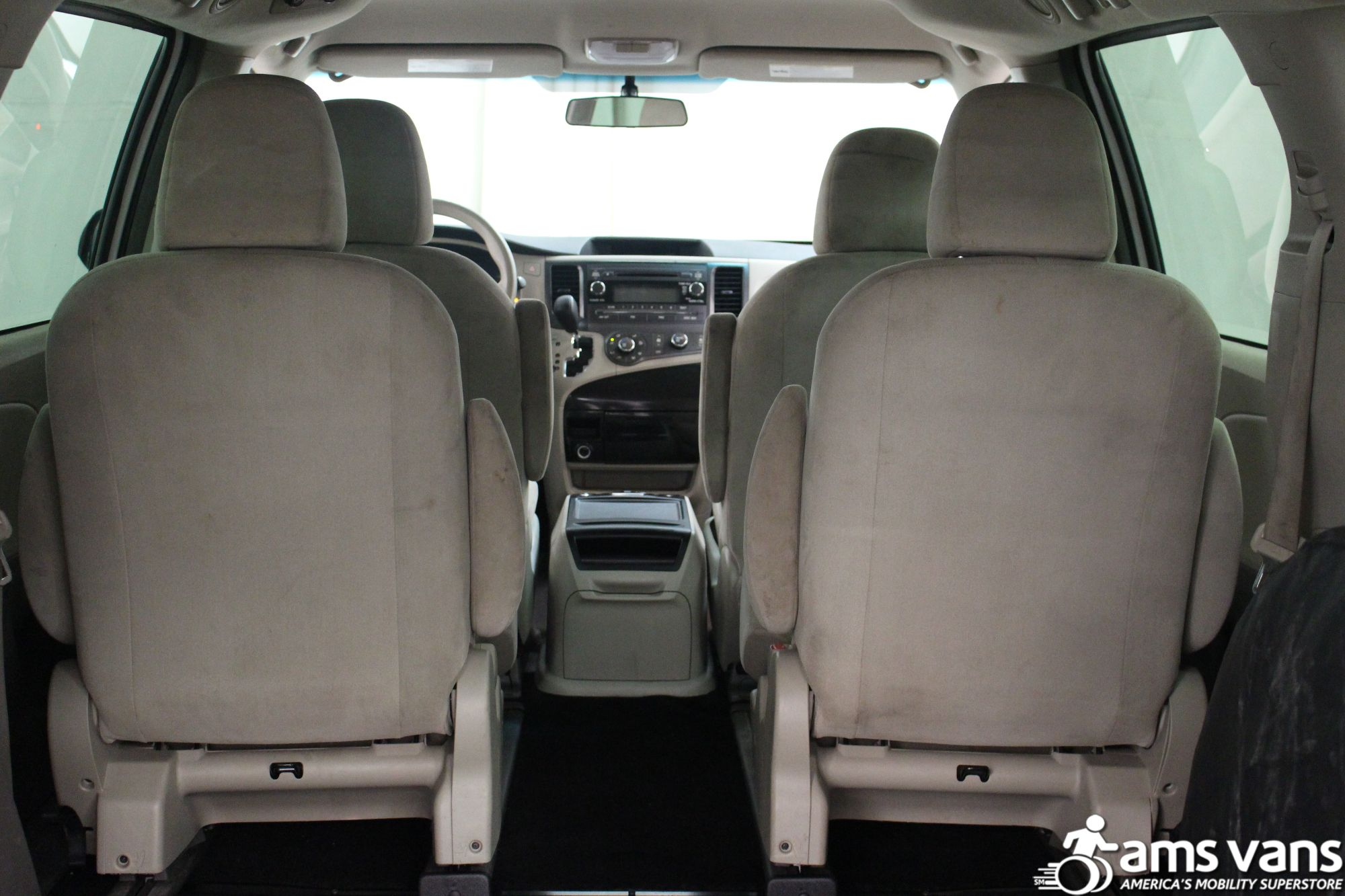2013 Toyota Sienna L Wheelchair Van For Sale #4