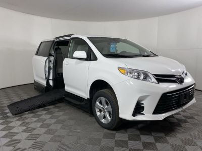 New Wheelchair Van for Sale - 2019 Toyota Sienna LE Standard Wheelchair Accessible Van VIN: 5TDKZ3DC3KS005567