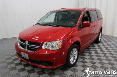 2016 Dodge Grand Caravan Wheelchair Van For Sale -- Thumb #16