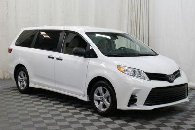Commercial Wheelchair Vans for Sale - 2019 Toyota Sienna L ADA Compliant Vehicle VIN: 5TDZZ3DC0KS996497