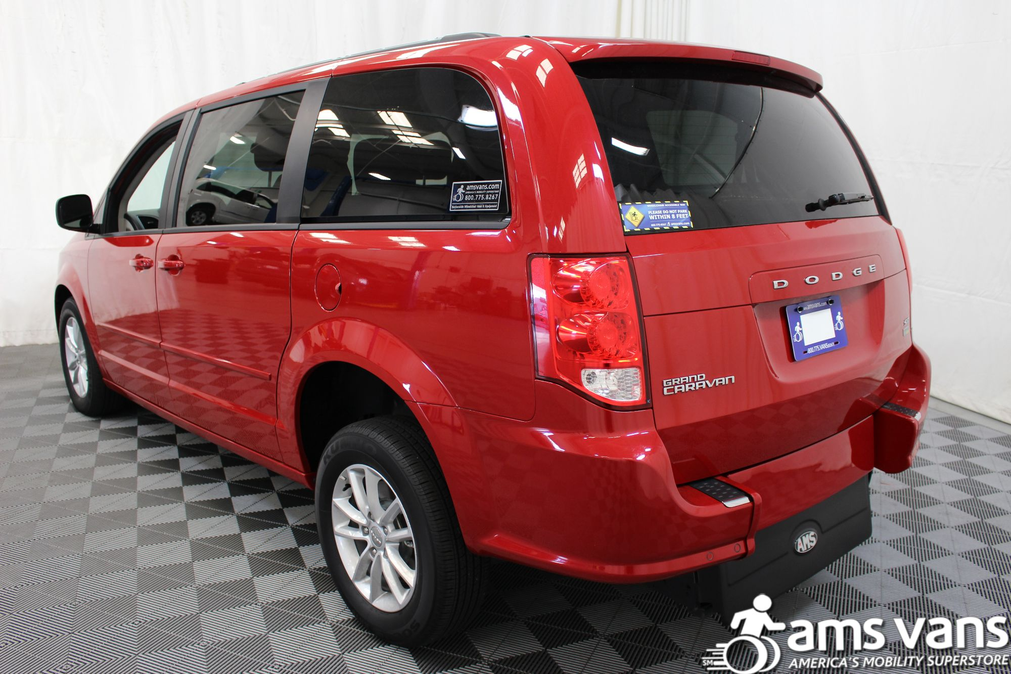 2016 Dodge Grand Caravan SXT Wheelchair Van For Sale #14