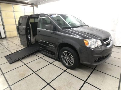Handicap Van for Sale - 2017 Dodge Grand Caravan SXT Wheelchair Accessible Van VIN: 2C4RDGCGXHR747037
