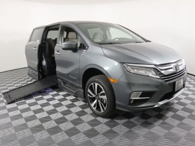 Used Wheelchair Van for Sale - 2019 Honda Odyssey Elite Wheelchair Accessible Van VIN: 5FNRL6H97KB084360
