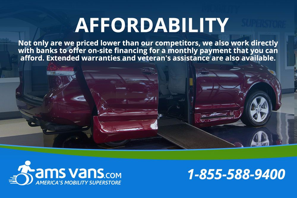 2009 Volkswagen Routan SE Wheelchair Van For Sale #29