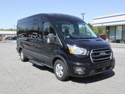 New Wheelchair Van for Sale - 2020 Ford Transit Passenger Mid-Roof 350 XLT - 15 Wheelchair Accessible Van VIN: 1FBAX2CG9LKA25674