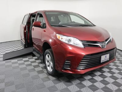 New Wheelchair Van for Sale - 2019 Toyota Sienna LE Standard Wheelchair Accessible Van VIN: 5TDKZ3DC8KS010151