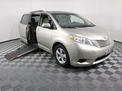 Commercial Wheelchair Vans for Sale - 2015 Toyota Sienna LE ADA Compliant Vehicle VIN: 5TDKK3DC7FS663676