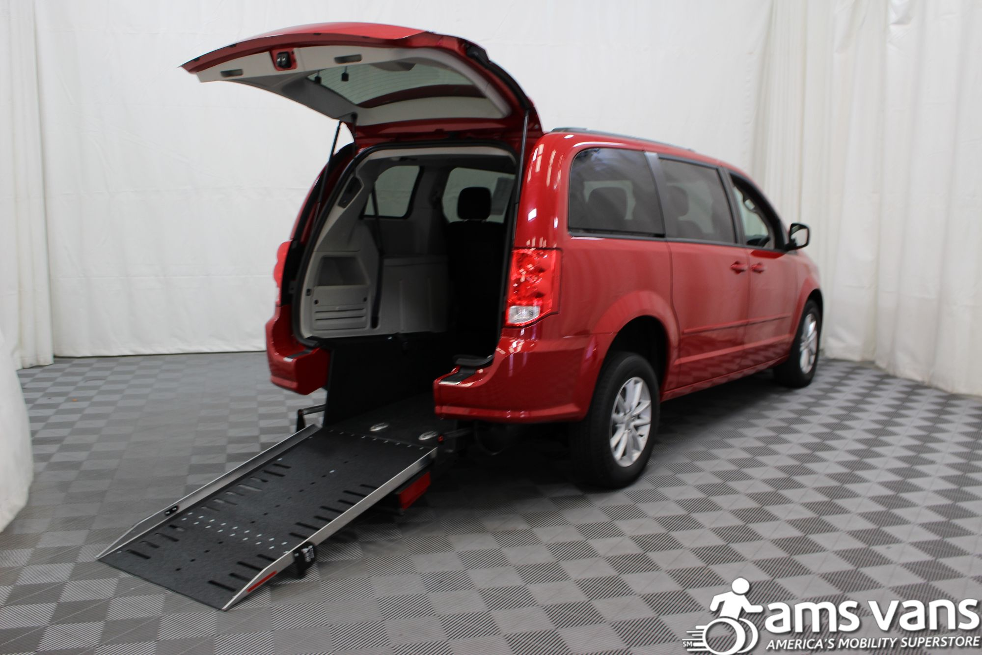 2016 Dodge Grand Caravan SXT Wheelchair Van For Sale #1