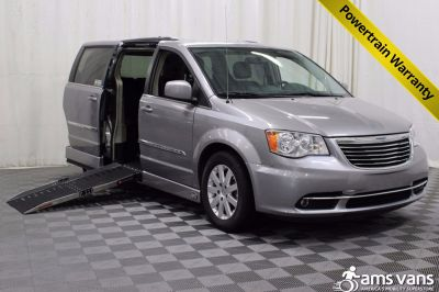New AMS Legend Conversion 2014 Chrysler Town Country Wheelchair Van For Sale