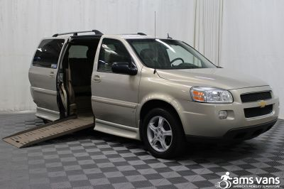 2008 Chevrolet Uplander Wheelchair Van For Sale