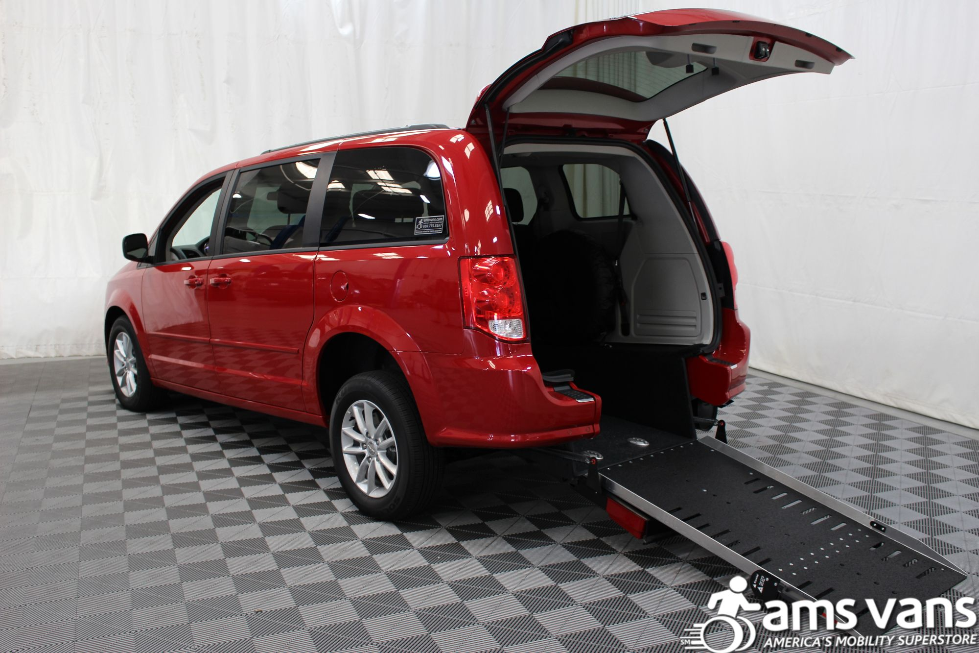 2016 Dodge Grand Caravan SXT Wheelchair Van For Sale #2