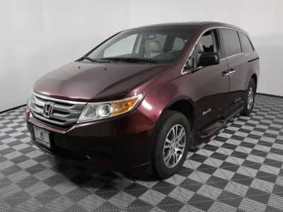 Used Wheelchair Van for Sale - 2012 Honda Odyssey EX-L Wheelchair Accessible Van VIN: 5FNRL5H67CB018568