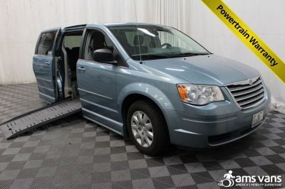Used 2009 Chrysler Town & Country LX Wheelchair Van