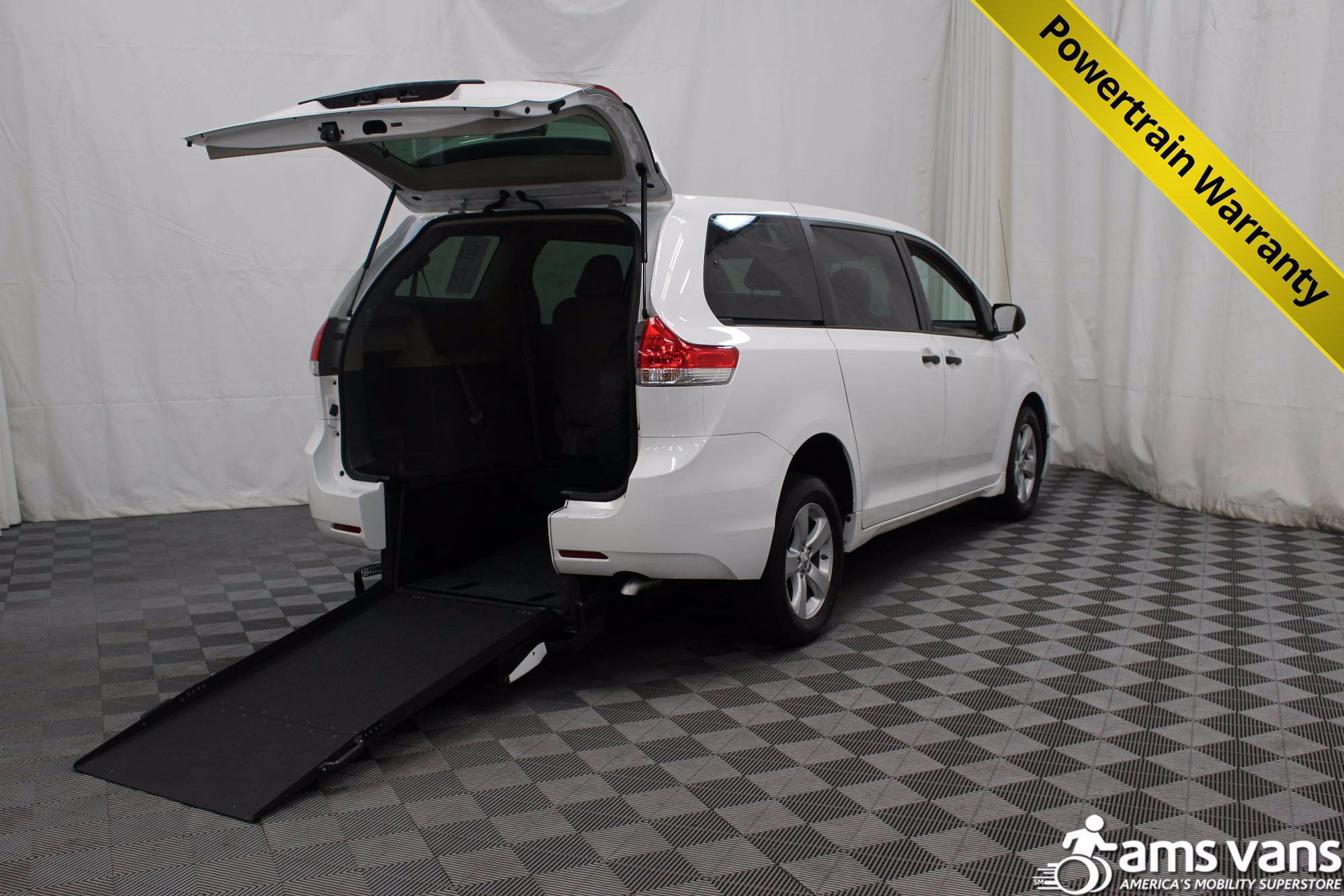 2013 Toyota Sienna L Wheelchair Van For Sale #1
