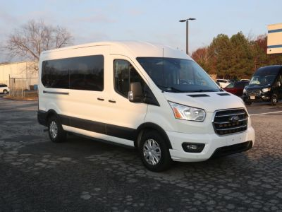 Commercial Wheelchair Vans for Sale - 2020 Ford Transit Passenger Mid-Roof 350 XLT ADA Compliant Vehicle VIN: 1FBAX2C82LKA23354