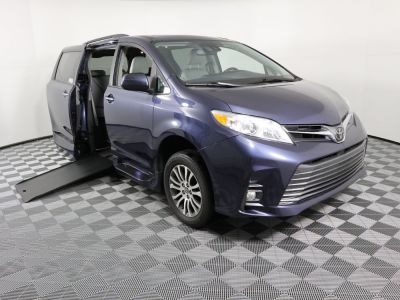 Used Wheelchair Van for Sale - 2018 Toyota Sienna XLE Wheelchair Accessible Van VIN: 5TDYZ3DC8JS916566