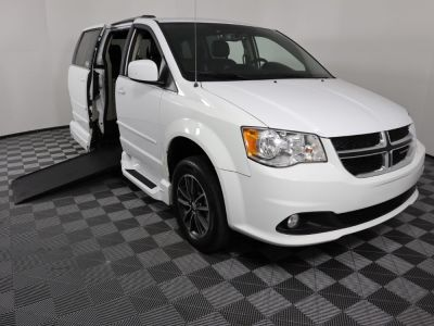 Handicap Van for Sale - 2017 Dodge Grand Caravan SXT Wheelchair Accessible Van VIN: 2C4RDGCG0HR865081