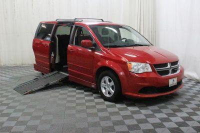 Used Wheelchair Van for Sale - 2013 Dodge Grand Caravan SXT Wheelchair Accessible Van VIN: 2C4RDGCG7DR655295