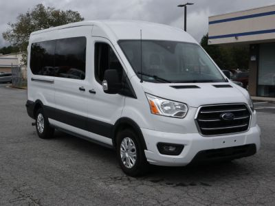 Handicap Van for Sale - 2020 Ford Transit Passenger Mid-Roof 350 XLT - 15 Wheelchair Accessible Van VIN: 1FBAX2C82LKA24746