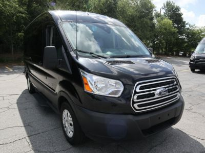 Handicap Van for Sale - 2019 Ford Transit Passenger Mid-Roof 350 XLT - 15 Wheelchair Accessible Van VIN: 1FBAX2CM1KKA47544