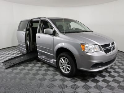 Handicap Van for Sale - 2015 Dodge Grand Caravan SXT Wheelchair Accessible Van VIN: 2C4RDGCG6FR746674