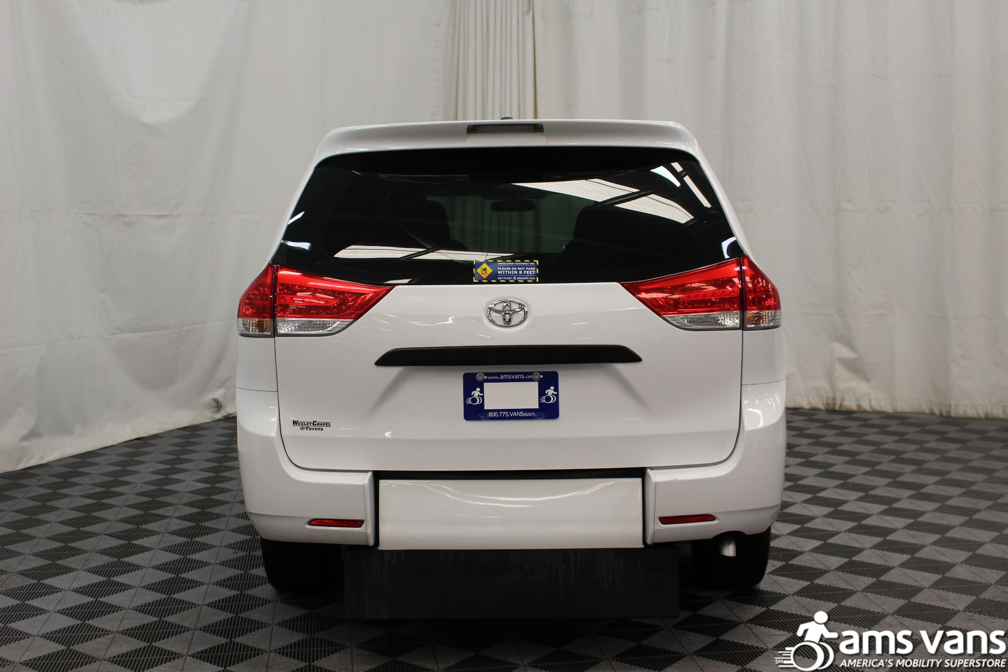 2013 Toyota Sienna L Wheelchair Van For Sale #11