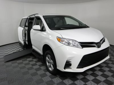 New Wheelchair Van for Sale - 2020 Toyota Sienna LE Standard Wheelchair Accessible Van VIN: 5TDKZ3DC8LS058315