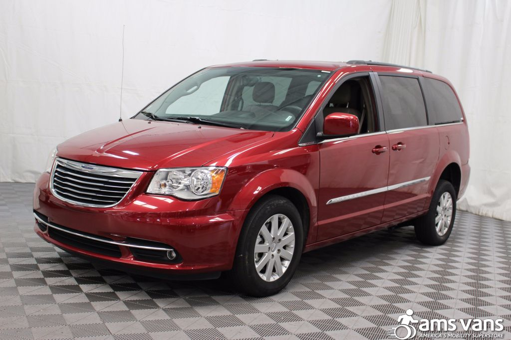 2016 chrysler town and country wheelchair van for sale 36 995. Black Bedroom Furniture Sets. Home Design Ideas